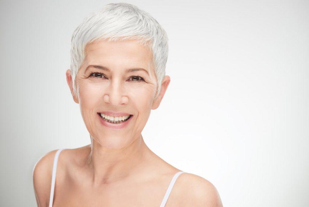 boca sana mujer adulta