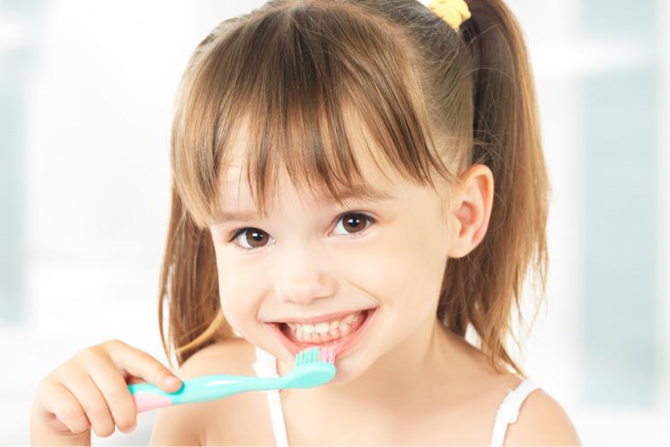 kit higiene dental para niños