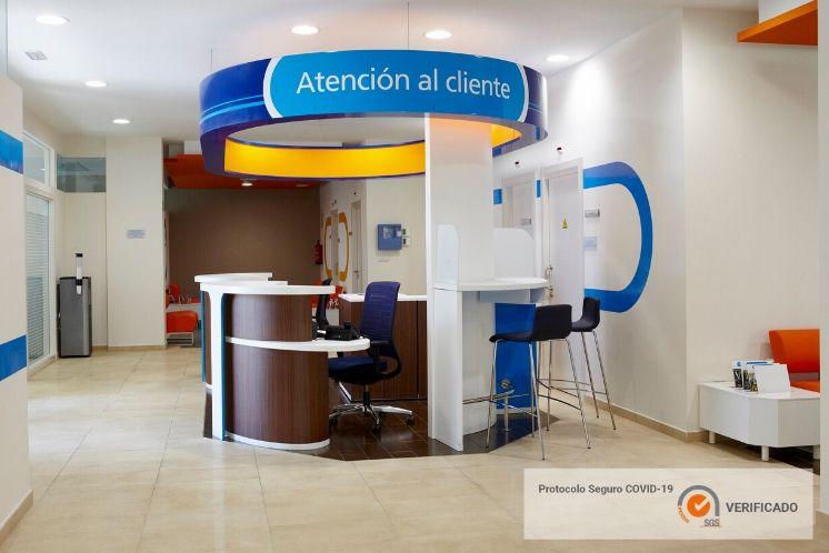 Clínica Dental Adeslas certificat de seguretat enfront de l'covid